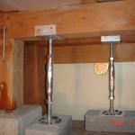 補強金具 鋼製束柱
