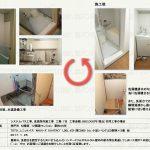 浴室改修工事 TOTOユニットバス WHシリーズ