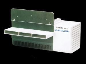 基礎パッキン工法の床下換気扇 ジェットファンネル