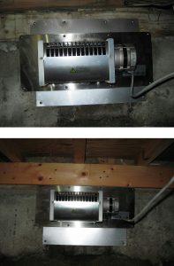 床下換気扇(排気型)
